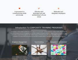 #12 for ReDesign a landing page by RJMF