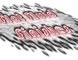 #11 untuk Design a Logo for Flat Fluid Finishes oleh havokzzx