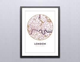 nº 1 pour London Map Design/Illustration for Art Prints/Posters par lida66