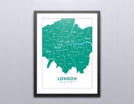 nº 3 pour London Map Design/Illustration for Art Prints/Posters par lida66