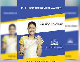 #18 untuk Advertisement for FB to hire Indian Housemaid oleh Farid214