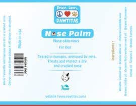 #18 for Design label for diferent organic natural dog balm for nose, paws and skin af aes57974ae63cfd9