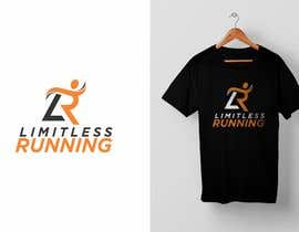 nº 4 pour Looking for a new logo for a running apparel company that specializes in shirts and hats. The company name is Limitless Running. The theme should revolve around nature and trail running. Pine trees, mountains, etc. par DesignApt
