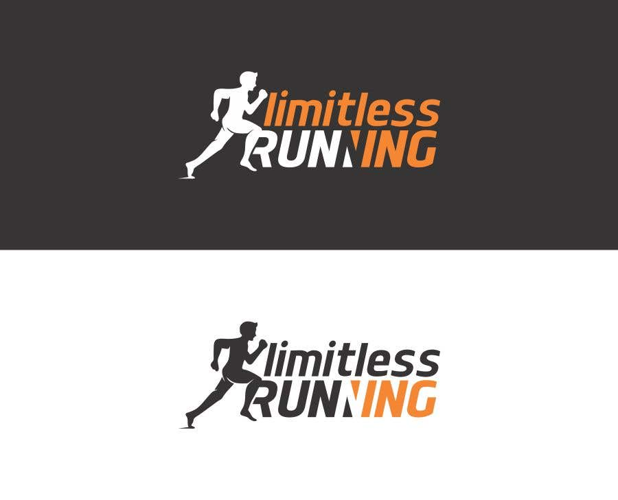 Proposition n°7 du concours Looking for a new logo for a running apparel company that specializes in shirts and hats. The company name is Limitless Running. The theme should revolve around nature and trail running. Pine trees, mountains, etc.