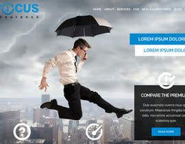 #37 cho Design a Website Mockup for an insurance broking company bởi MilutinAleksic