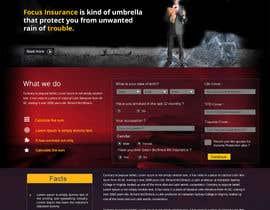 #48 cho Design a Website Mockup for an insurance broking company bởi Reflexlogic