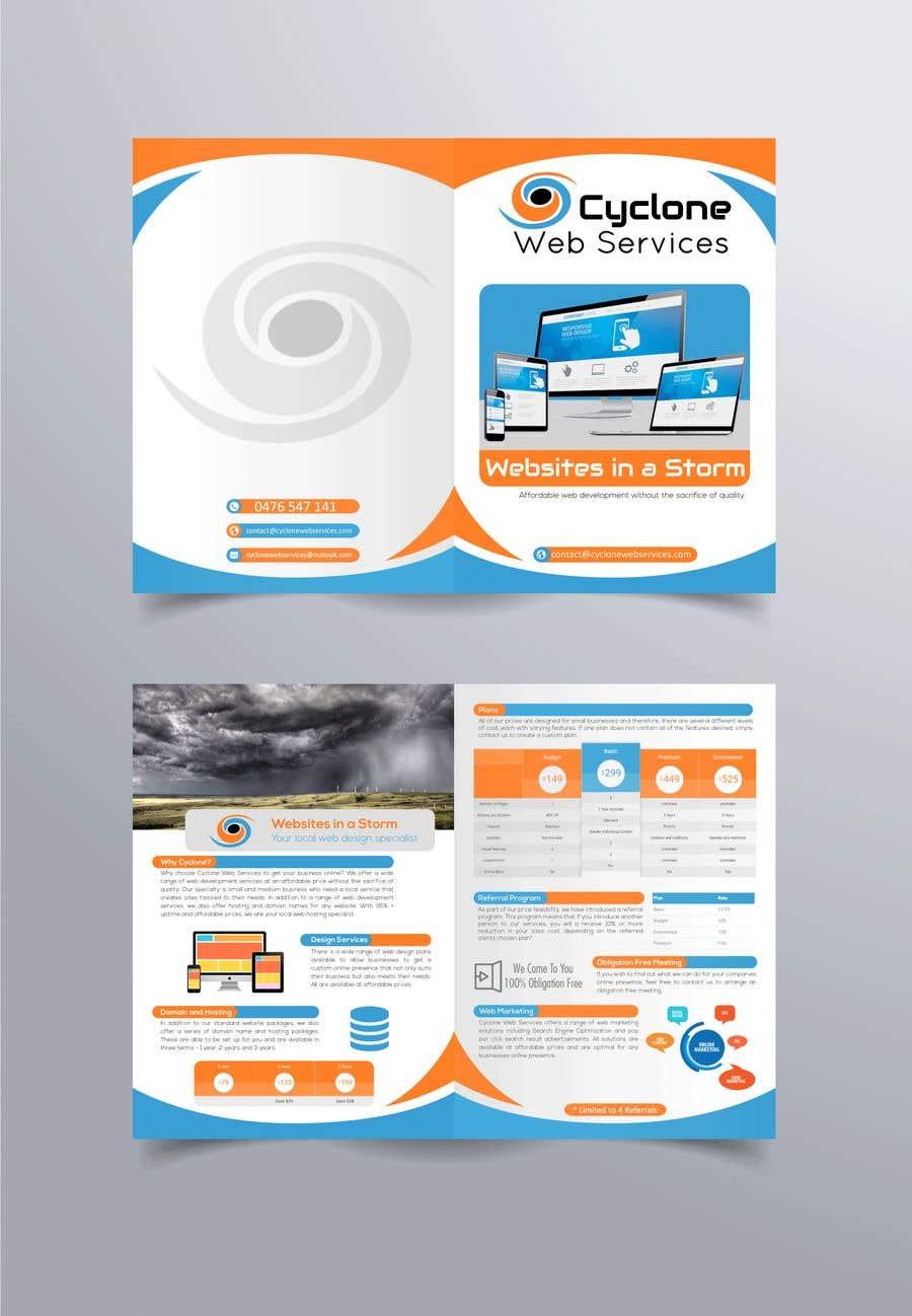 Kilpailutyö #30 kilpailussa Redesign Brochure to look professional