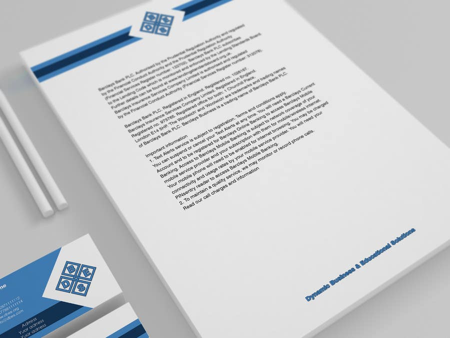 Entry #12 by s04530612 for Logo, Business Card & Letterhead Design ...