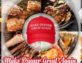 #9 for Make Dinner Great Again - Cookbook Cover Contest by AngAto