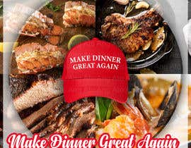 #11 for Make Dinner Great Again - Cookbook Cover Contest by AngAto