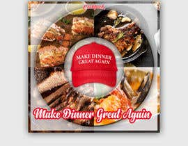 #12 for Make Dinner Great Again - Cookbook Cover Contest by AngAto