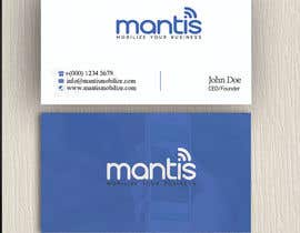 #1053 untuk Mantis business card design oleh yes321456