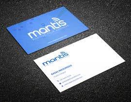 #1267 para Mantis business card design de RasalBabu