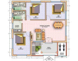archmamun tarafından Design Floor Plan için no 49