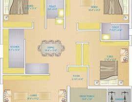 ahasanstudio tarafından Design Floor Plan için no 58