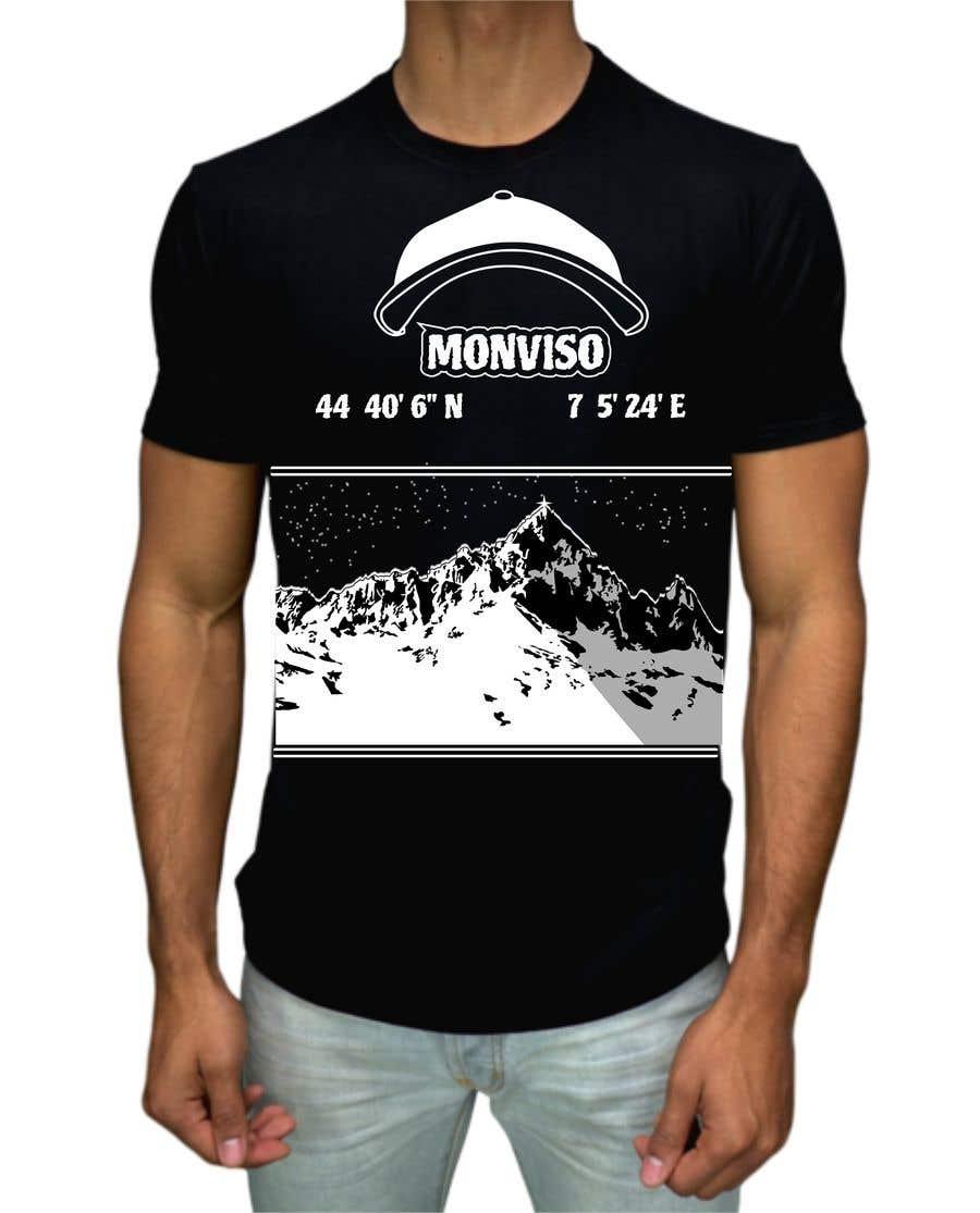 Penyertaan Peraduan #45 untuk Design Mountain T-Shirt