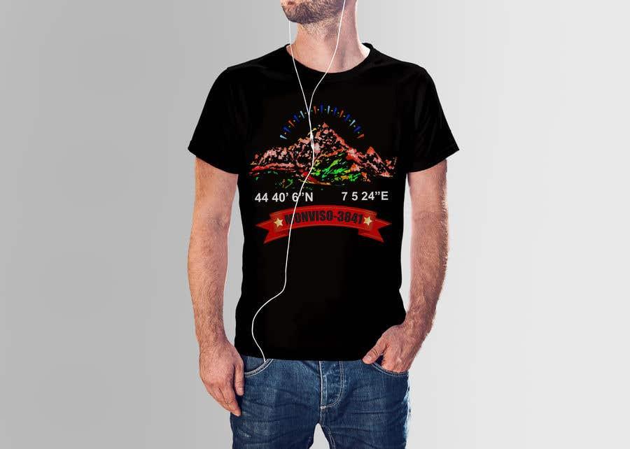 Penyertaan Peraduan #46 untuk Design Mountain T-Shirt