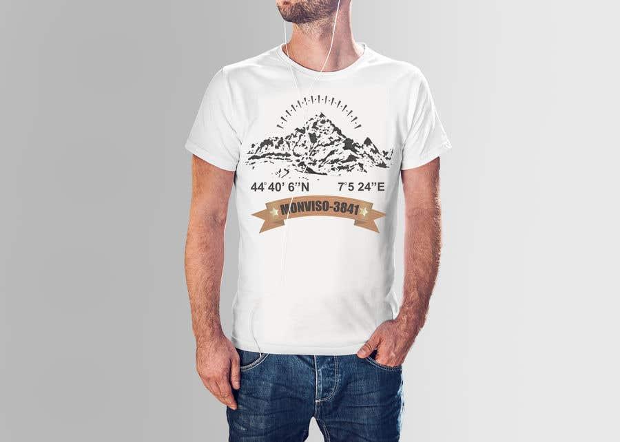 Penyertaan Peraduan #47 untuk Design Mountain T-Shirt