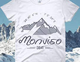 #73 for Design Mountain T-Shirt by color78