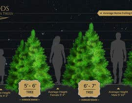 nº 13 pour Christmas Tree Sizing Guide par Minhal110