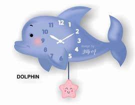 Nro 109 kilpailuun Simple Cartoon clock design käyttäjältä istykristanto