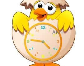 Nro 54 kilpailuun Simple Cartoon clock design käyttäjältä arunihathur