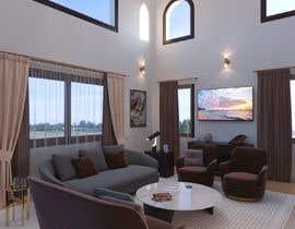 #21 для Living room and dining room design от khaledbouhedadj4