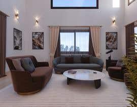 #22 для Living room and dining room design от khaledbouhedadj4