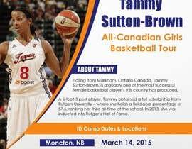 #14 for Design a flyer for a Basketball Tour af niyajahmad