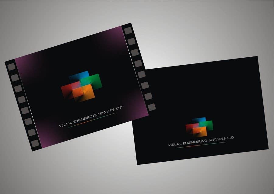 Inscrição nº                                         30                                      do Concurso para                                         Stationery Design for Visual Engineering Services Ltd