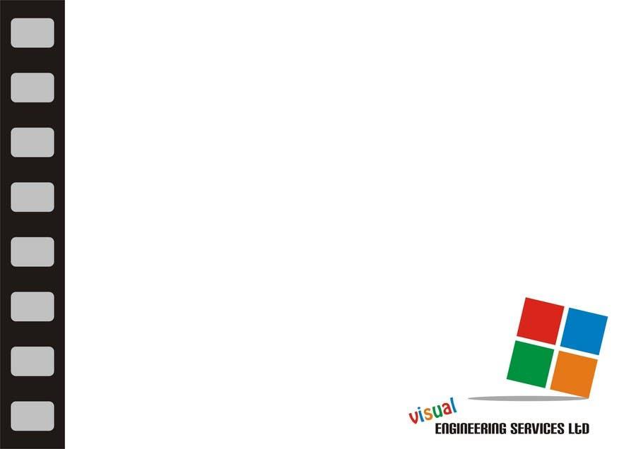 Konkurrenceindlæg #                                        14                                      for                                         Stationery Design for Visual Engineering Services Ltd
