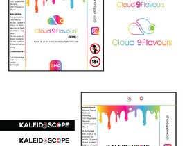 nº 4 pour Design E liquid logo and label par eaumart