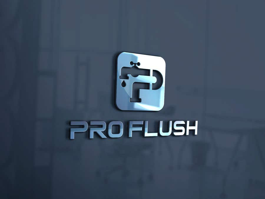 """Proposition n°103 du concours i need a logo desinged """"PROFLUSH"""""""