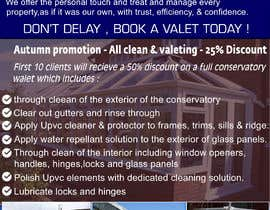 nº 72 pour Design a Flyer for Conservatory Cleaning par xperts99