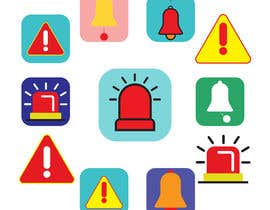#51 for Design an Alerts Icon by mdmominulhaque