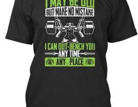 nº 27 pour Gym T-shirt Design par anlonain2