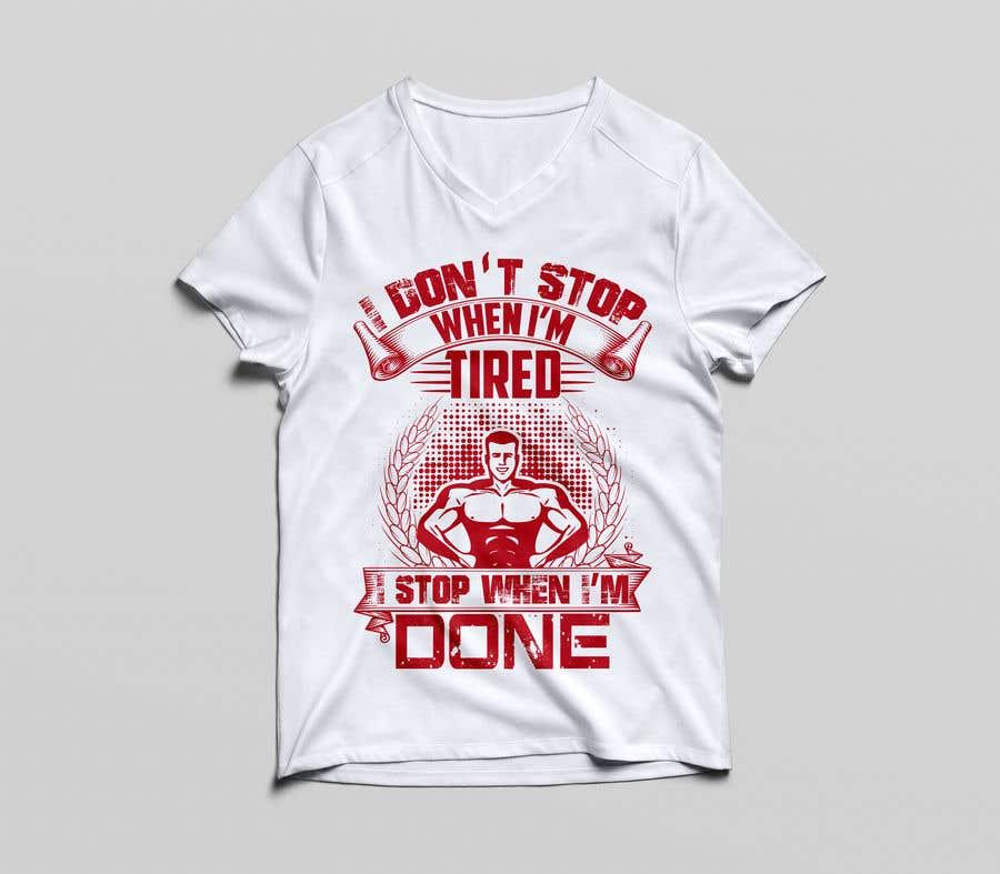 Proposition n°26 du concours Gym T-shirt Design