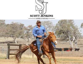 "#2 para A logo and Facebook banner. ""Scott Jenkins Horse Starting"" por akuarief69"