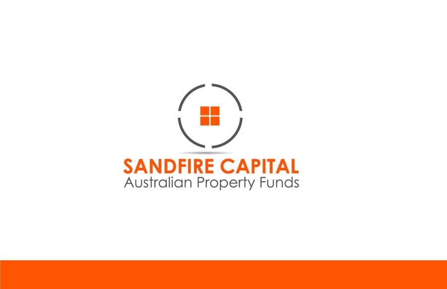 Kilpailutyö #                                        111                                      kilpailussa                                         Logo Design for Sandfire Capital - Australian Property Funds