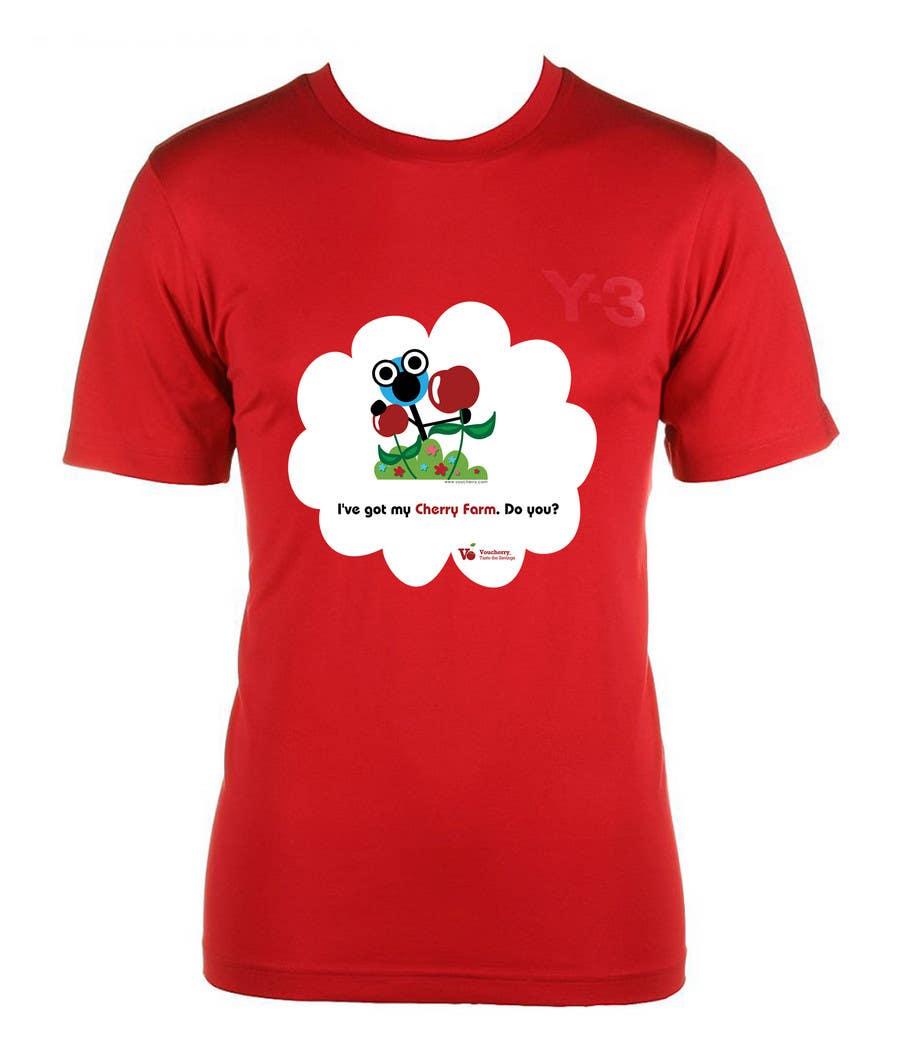 Participación en el concurso Nro.22 para T-shirt Design for Voucherry.com