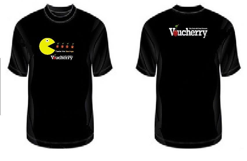 Participación en el concurso Nro.80 para T-shirt Design for Voucherry.com