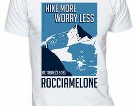 #23 for Design a Mountain T-Shirt with motto by elitesniper