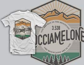 #45 for Design a Mountain T-Shirt with motto af krisamando