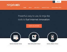 #19 untuk Are you a Design Ninja? Design NinjaTools.com - We are a Perfect 5 star Freelancer. oleh andrewnickell