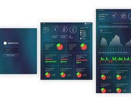 nº 17 pour Design a one page dashboard (non-interactive) with Spotify charts par darkevangel