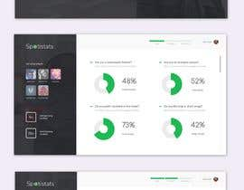 nº 45 pour Design a one page dashboard (non-interactive) with Spotify charts par sahakingshuk