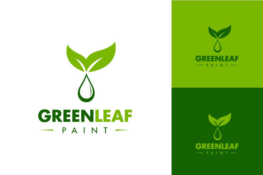Proposition n°132 du concours Logo Design for Green Leaf Paint