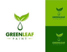 #147 para Logo Design for Green Leaf Paint por BrandCreativ3