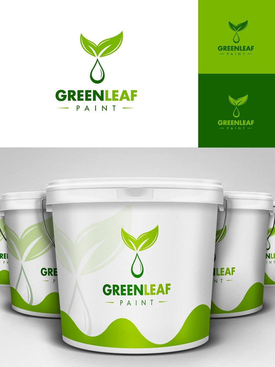 #235 for Logo Design for Green Leaf Paint by BrandCreativ3