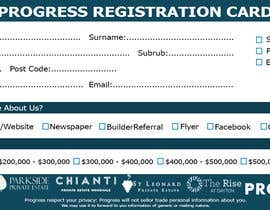 #37 для Design a Registration Card от shoaib786mughal